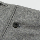 Norse Projects - Thomas Slim Light Wool Trousers - Light Grey Melange