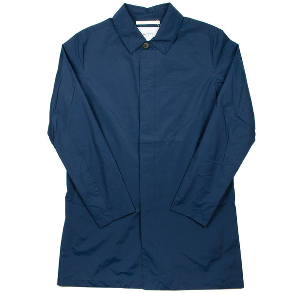 Norse Projects - Thor Crisp Cotton Raincoat - Navy