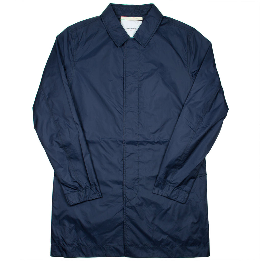 Norse Projects - Thor Light Ripstop Raincoat - Navy