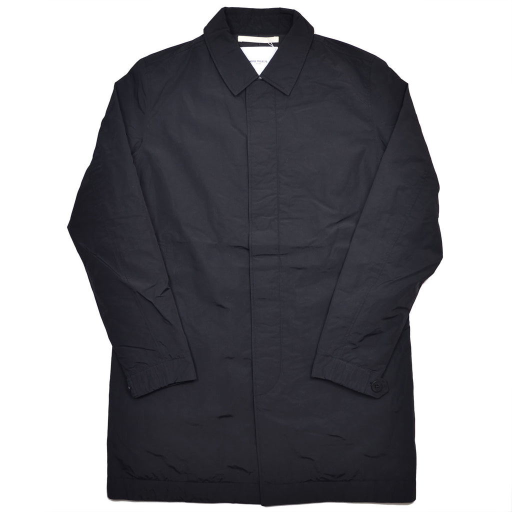Norse Projects - Thor Light Winter Raincoat - Black