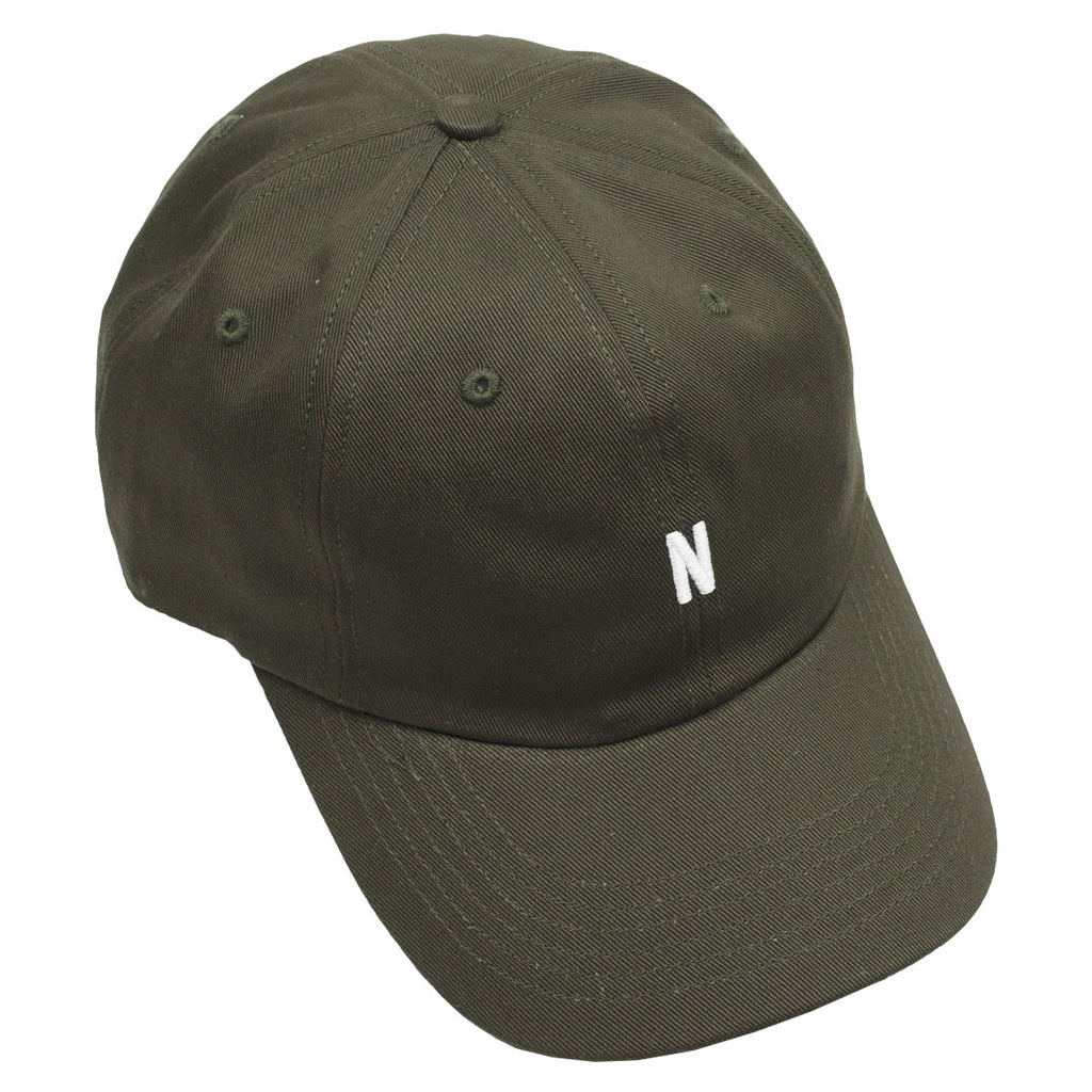 Norse Projects - Twill Sports Cap - Beech Green