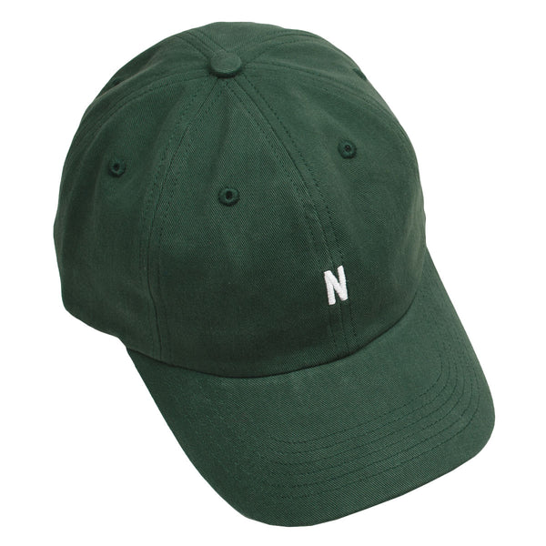 Norse Projects - Twill Sports Cap - Dartmouth Green