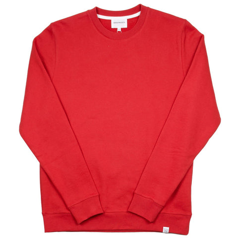 Norse Projects - Vagn Classic Sweatshirt - Askja Red