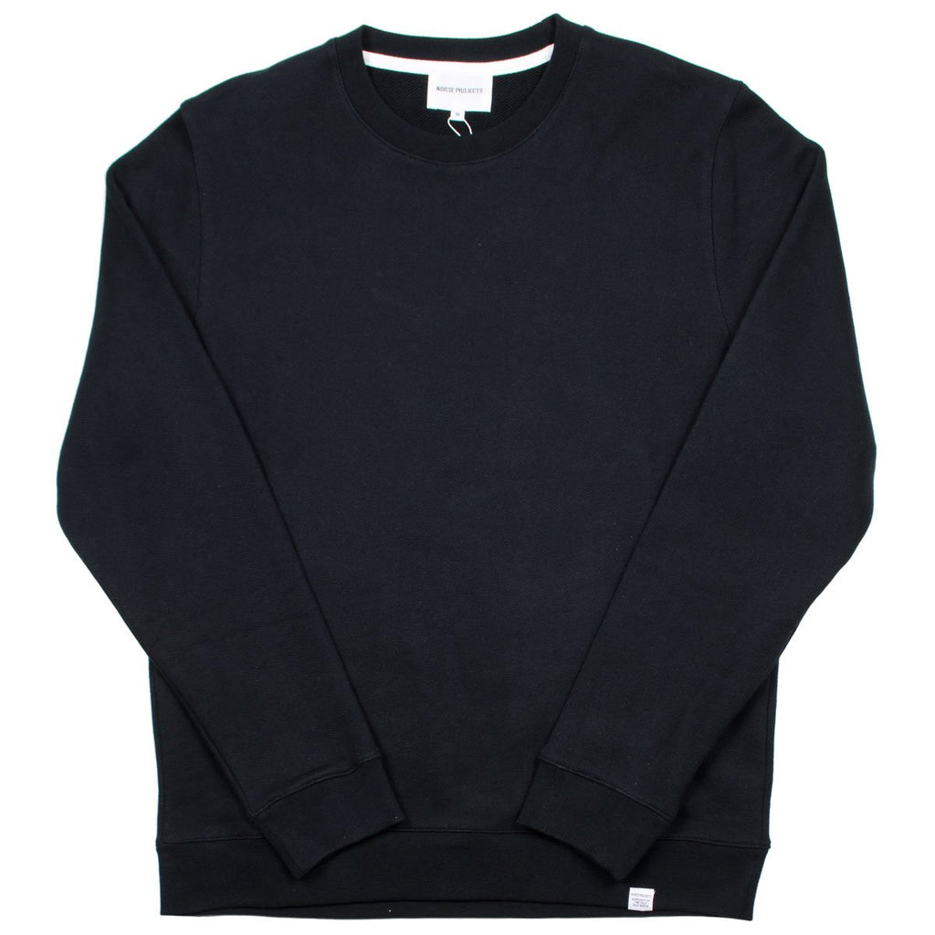 Norse Projects - Vagn Classic Sweatshirt - Black