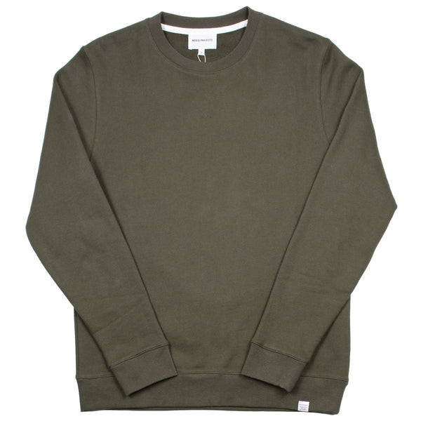 Norse Projects - Vagn Classic Sweatshirt - Ivy Green