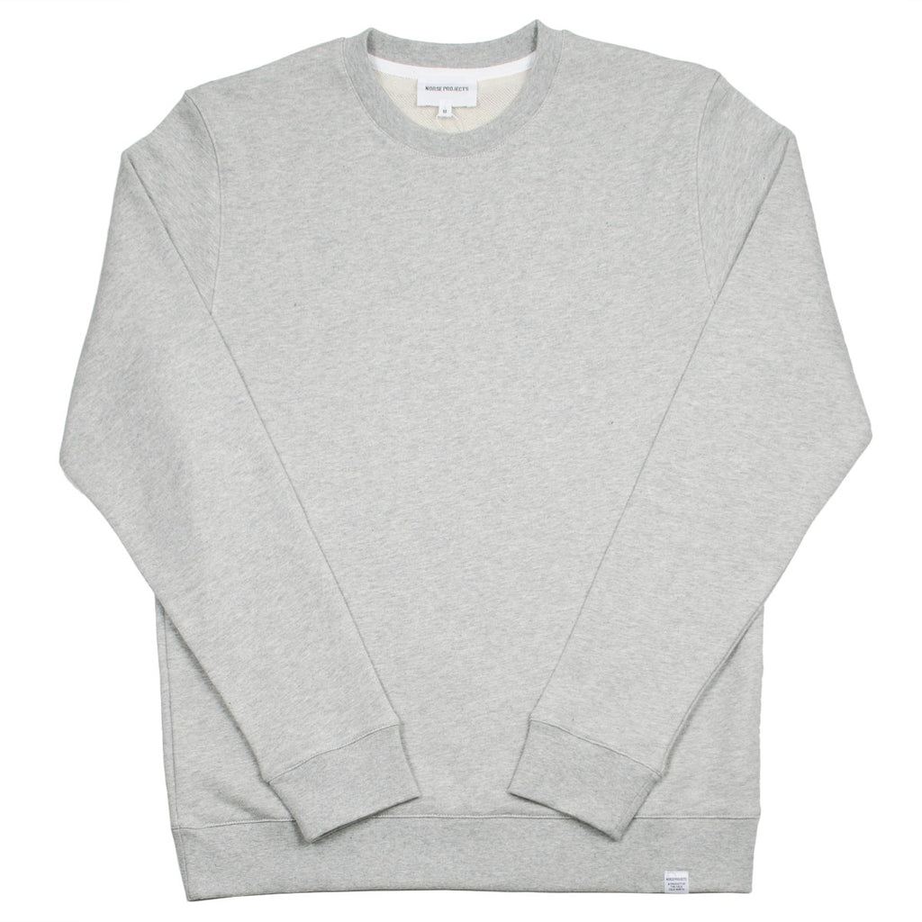 Norse Projects - Vagn Classic Sweatshirt - Light Grey Melange