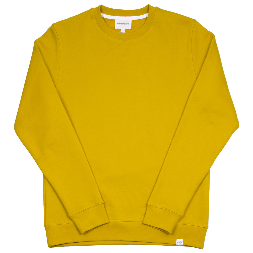 Norse Projects - Vagn Classic Sweatshirt - Montpellier Yellow