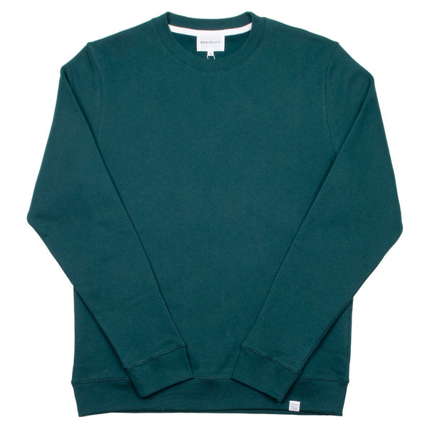 Norse Projects - Vagn Classic Sweatshirt - Quartz Green