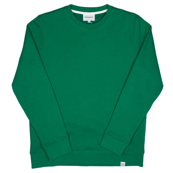 Norse Projects - Vagn Classic Sweatshirt - Sporting Green