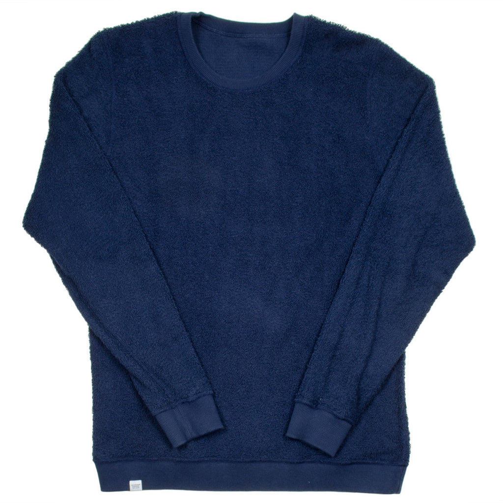 Norse Projects - Vagn Japanese Cotton Reversible Sweatshirt - Navy