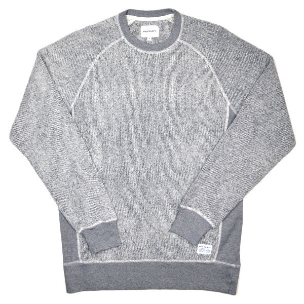 Norse Projects - Ville Summer Bubble Sweater - Dark Navy