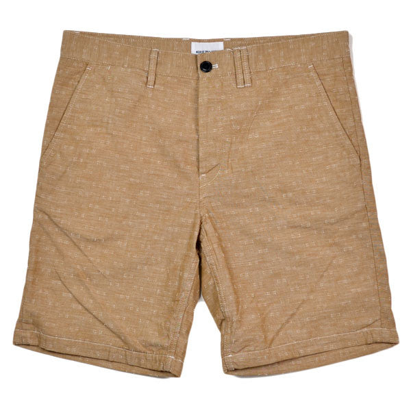 Norse Projects – Aros Short Chambray – Summer Khaki