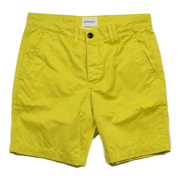 Norse Projects – Aros Short Heavy Chino – Misted Yellow