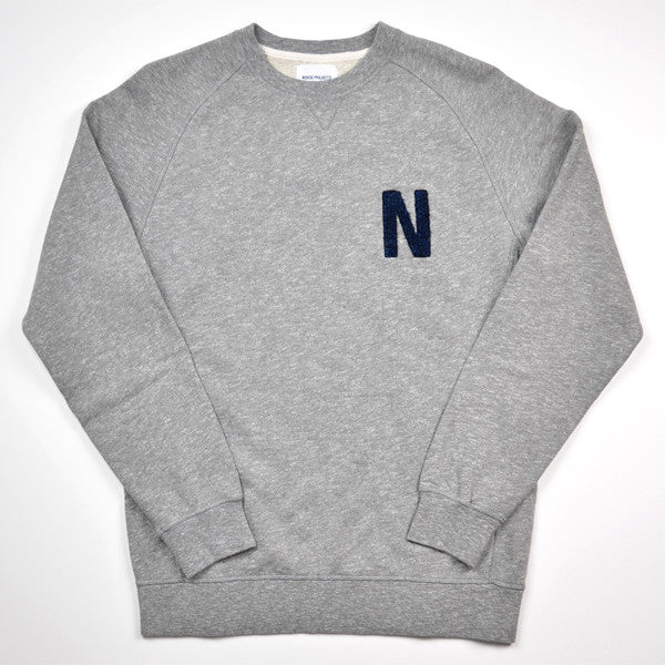 Norse Projects – Ketel Sport – Grey Melange