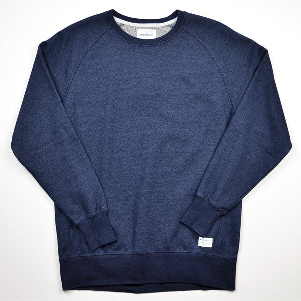 Norse Projects – Vorm Indigo Sweat – Dark Indigo