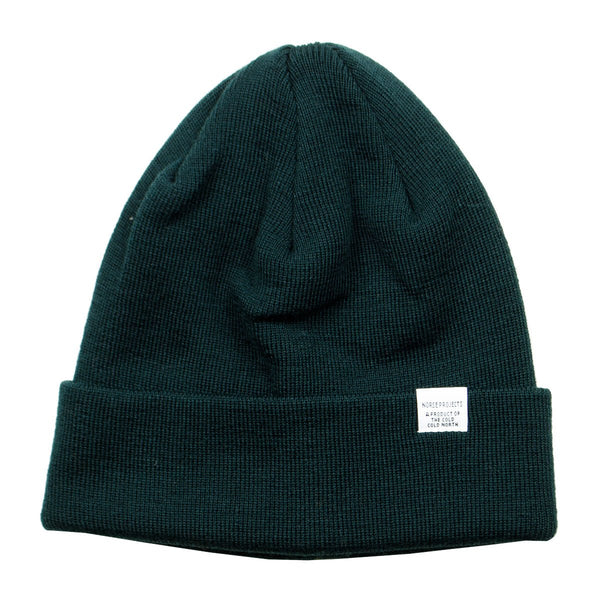 Norse Projects - Norse Top Beanie - Quartz Green
