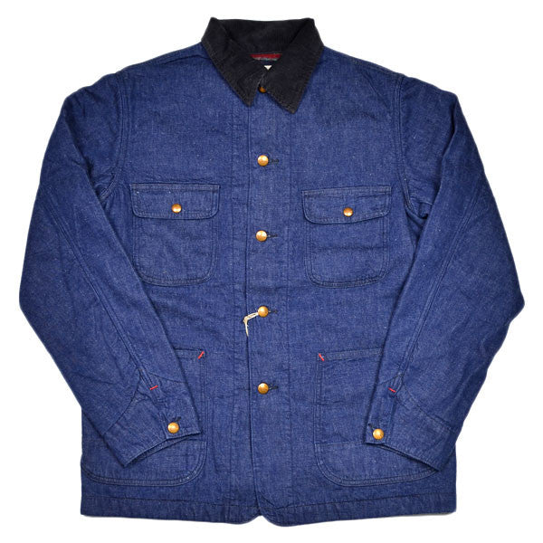 orSlow - 50s Coverall Jacket with Wool Lining - One Wash Denim