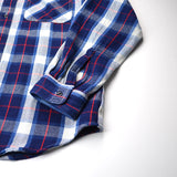 orSlow - 70s Work Shirt - Indigo Check