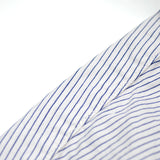 orSlow - Dress Shirt - Border Stripe White