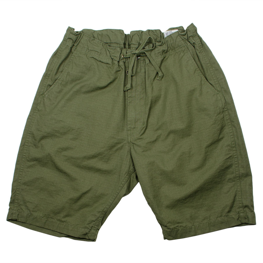 orSlow - New Yorker Shorts - Army Ripstop