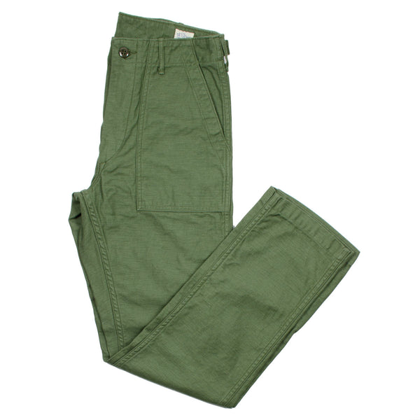 orSlow - Slim Fit Fatigue Pants - Green
