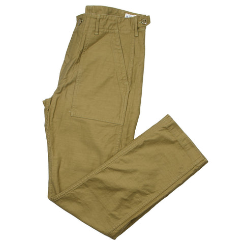 orSlow - Slim Fit Fatigue Pants - Khaki