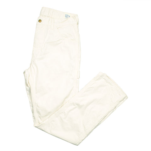 orSlow - Slim Fit Painter Pants - Ecru
