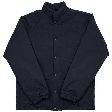 orSlow - Water Repellent Puff Nylon Coach Jacket - Black