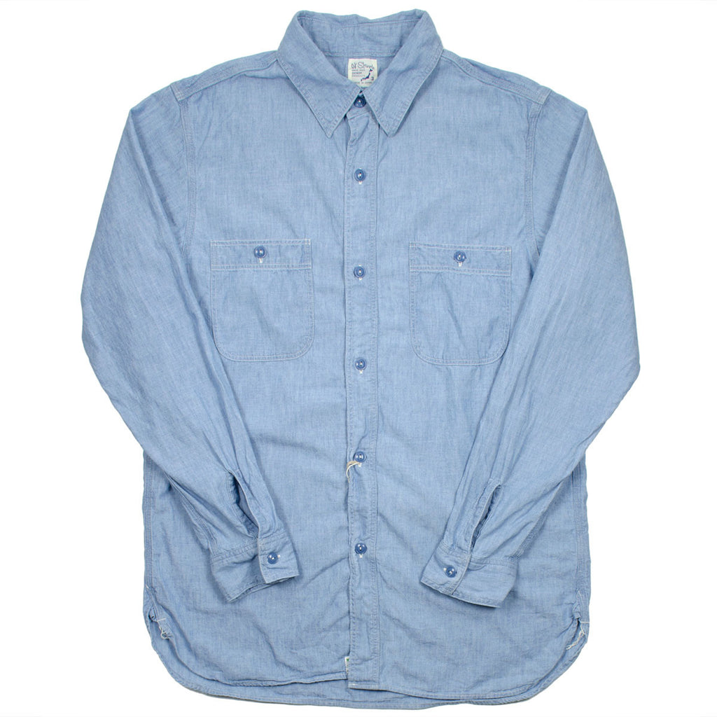 orSlow - Work Shirt - Bleach