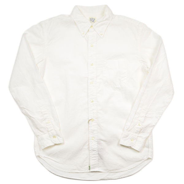 orSlow – Button-down Shirt – White