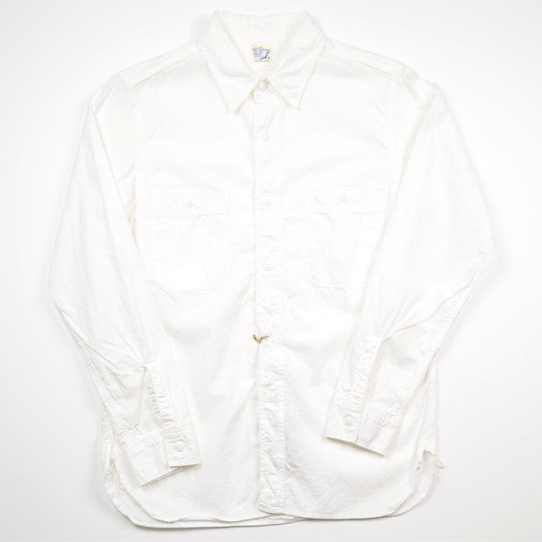 orSlow – Chambray Shirt – White
