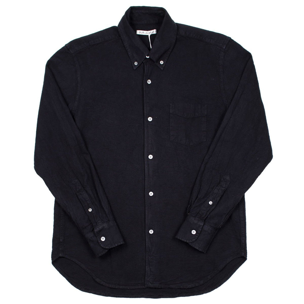 Our Legacy - 1950's Shirt - Black H.A. Oxford