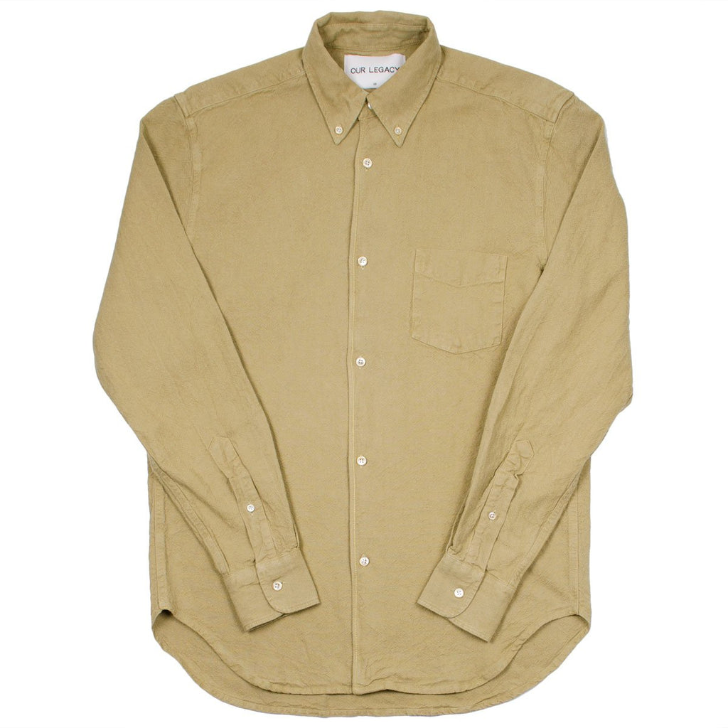 Our Legacy - 1950's Shirt - Khaki H.A. Oxford