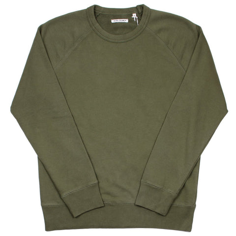 Our Legacy - 50's Great Sweatshirt - Core Olive Sweat