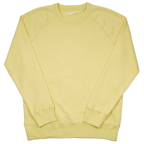 Our Legacy - 50's Great Sweatshirt - Sun Yellow Sweat