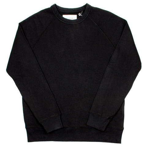 Our Legacy - 50's Great Sweatshirt - Washed Black Sweat