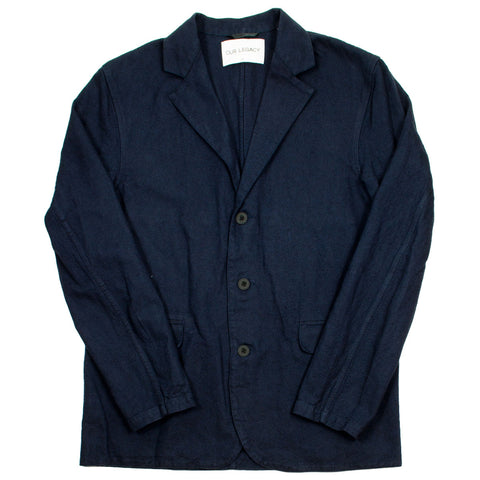 Our Legacy - Archive Blazer - Dark Navy H.A. Oxford