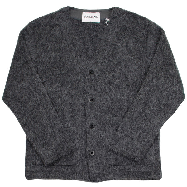 Our Legacy SPLASH - Cardigan - Grey Fuzz