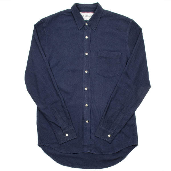 Our Legacy - Classic Shirt - Navy Silk