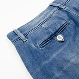 Our Legacy SPLASH - Denim Chinos - Blue Light Denim