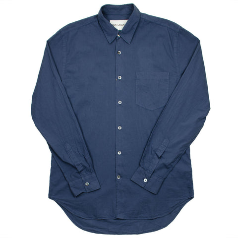 Our Legacy SPLASH - First Shirt - Navy Voil