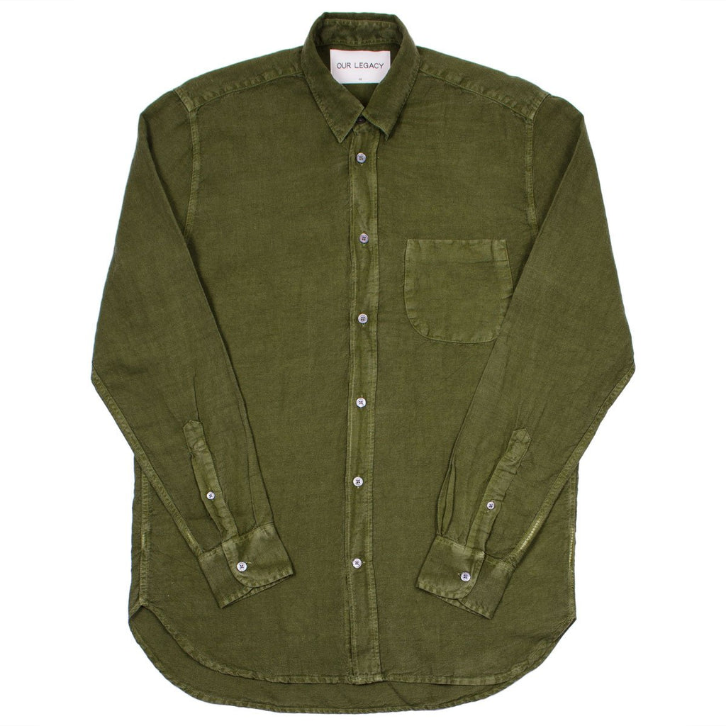 Our Legacy - Generation Shirt - Grass Cotton / Linen