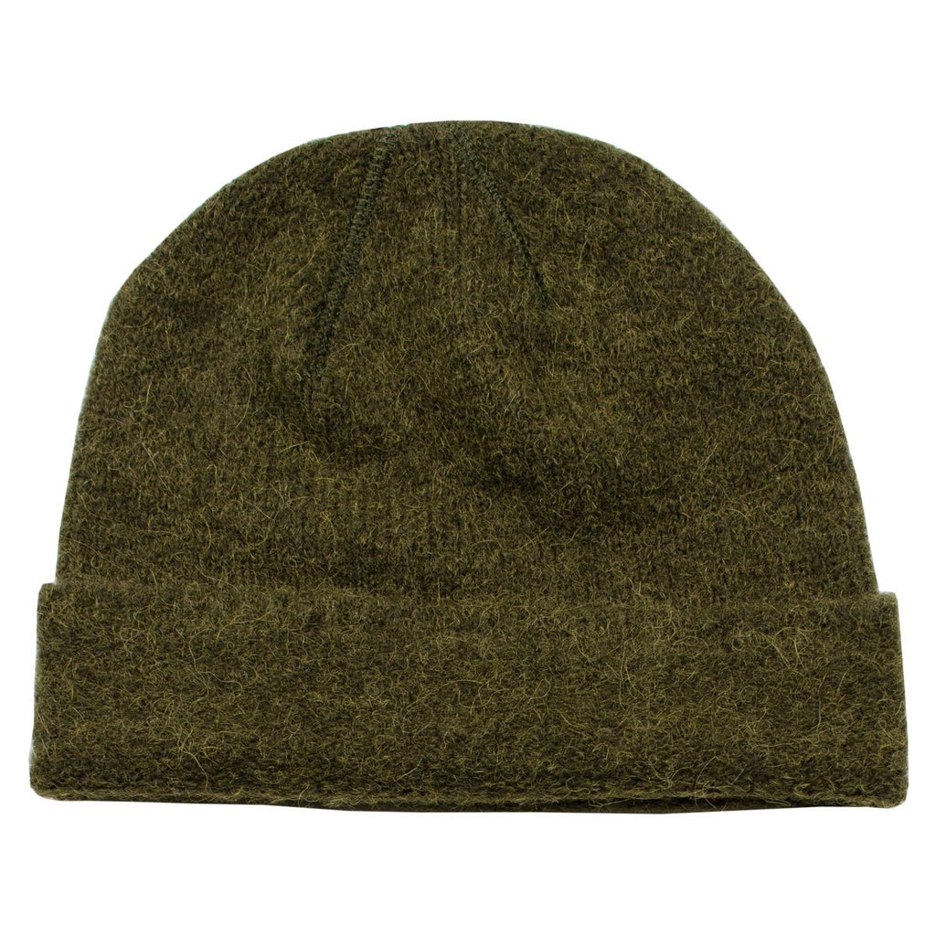 0e35f44dd Our Legacy - Knitted Hat - Dark Olive Needled – BEAUBIEN