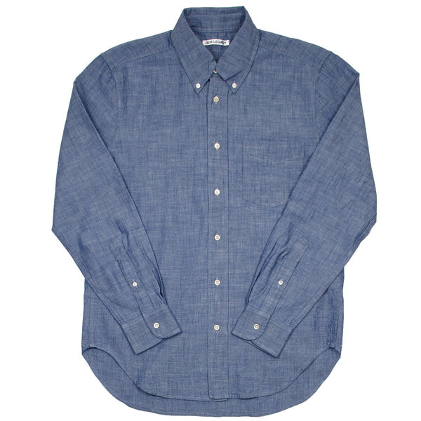 Our Legacy - Original BD Shirt - Blue Light Chambray