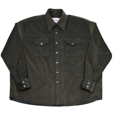 Our Legacy SPLASH - Overshirt - Sludge Olive Corduroy