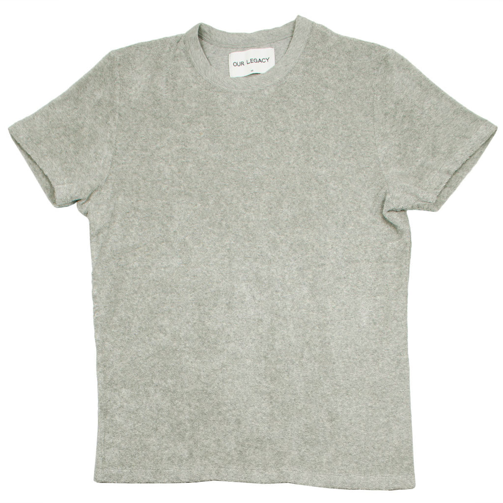 Our Legacy - Perfect T-shirt - Grey Melange Light Terry