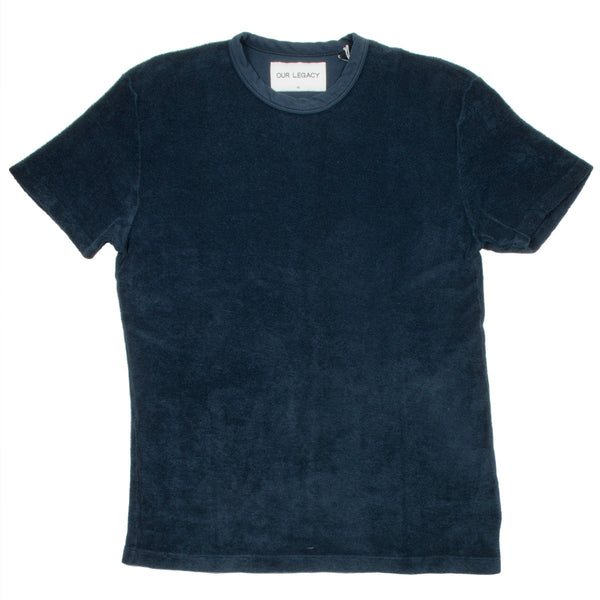 Our Legacy - Perfect Tee - Navy Light Terry