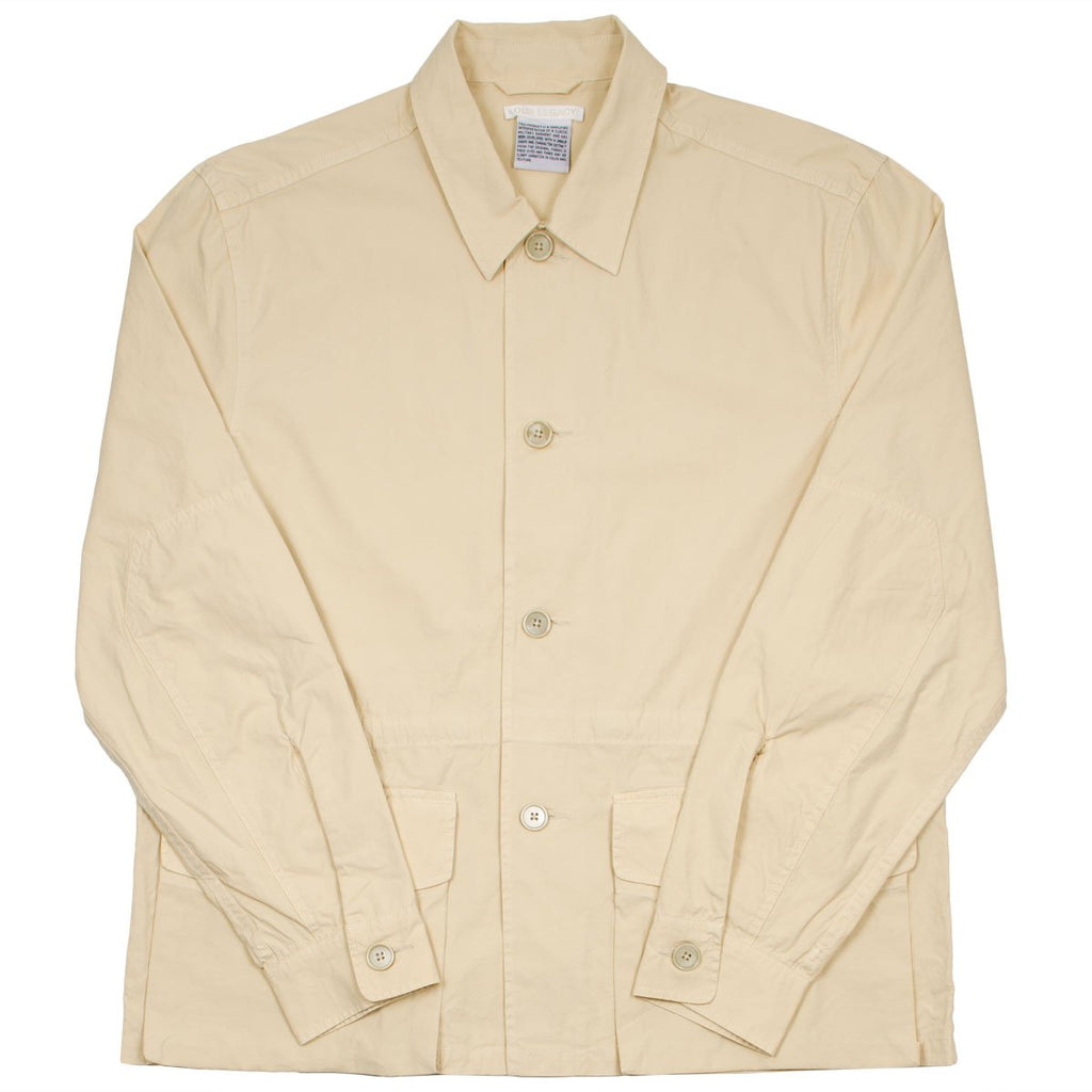 Our Legacy - Puff Pocket Shirt Jacket - Nicotine Sheet Poplin