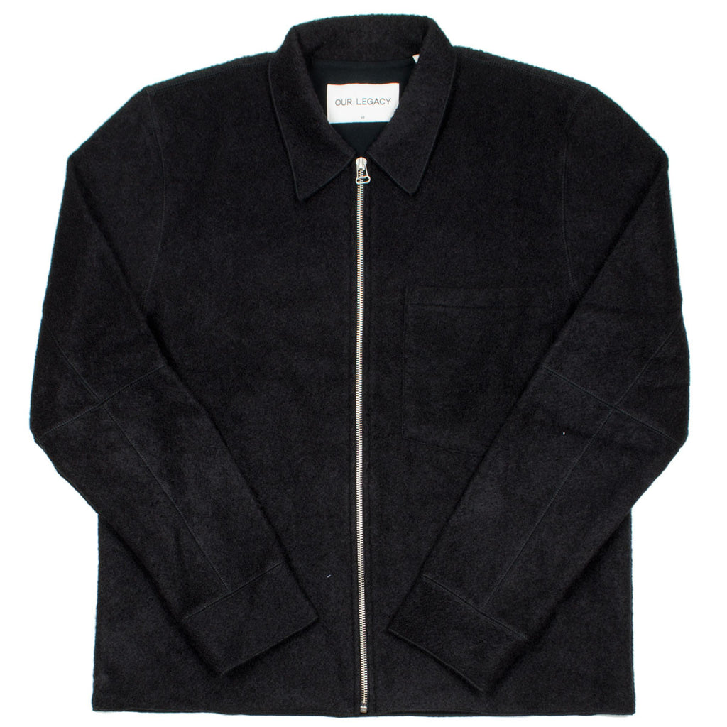 Our Legacy - Raw Edge Blouson - Black Curl