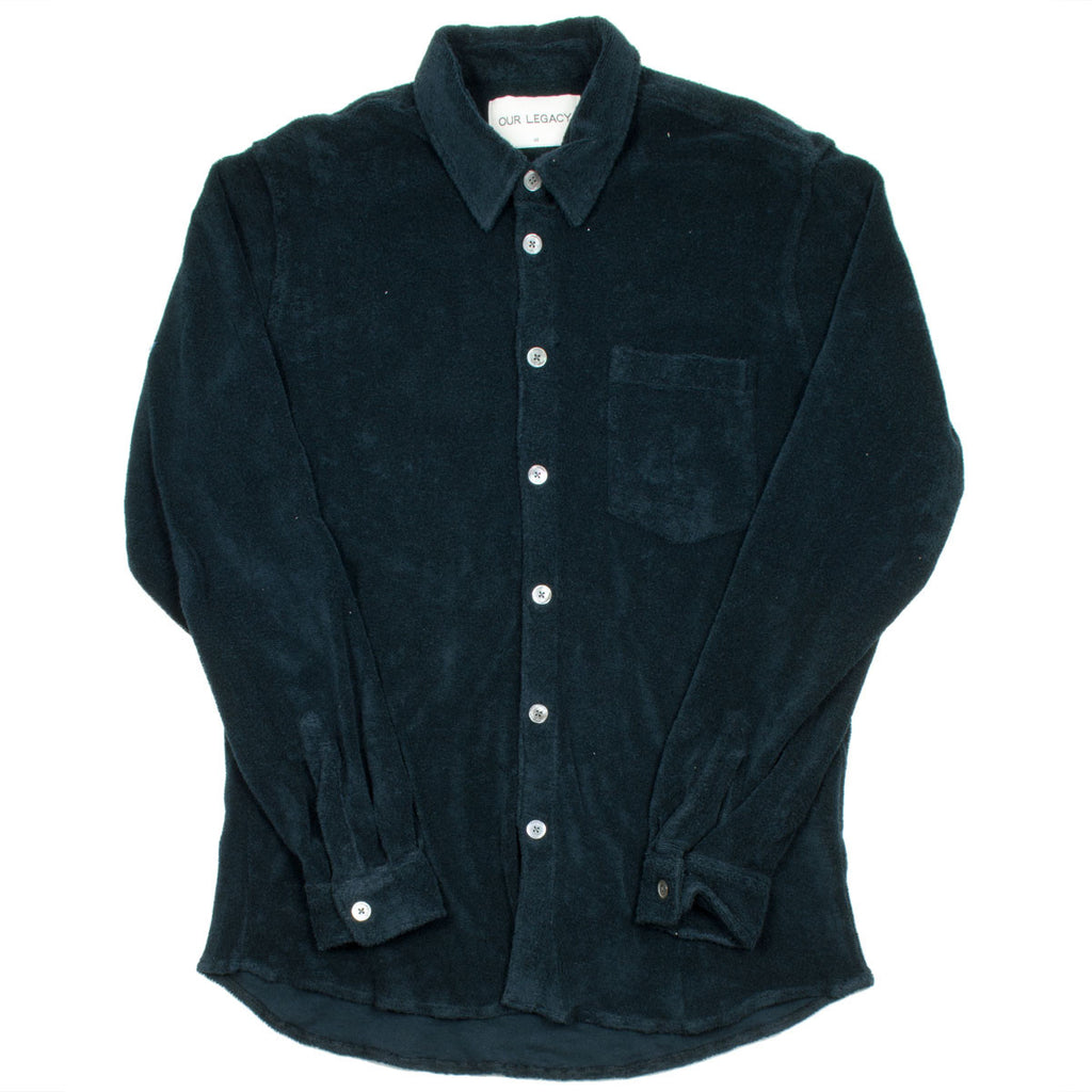Our Legacy - Terry Shirt - Navy